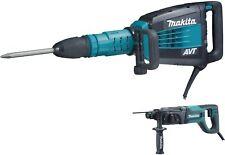 Makita Hm1214Cx 27-Pound Avt Demolition Hammer, Blue