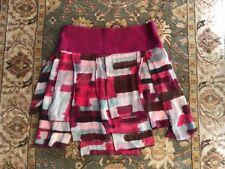 Diane Von Furstenberg Skirt Pompei Thrace Print Multi Size 6