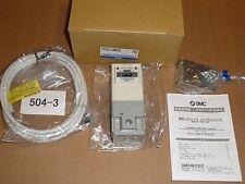 Smc E/P Regulator, Itv2030-Den2Cs, DeviceNet, 24Vdc, 12bit Input, 0.005~0.5Mpa