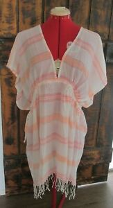 """""""BRAS N THINGS"""" LADIES BEACH COVERUP TOP *NEW WITH TAGS* RRP $69.99 SIZE M/L"""