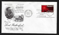Canada FDIC - 1971, Sir Ernest Rutherford #534 Lot AUG186