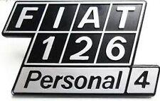 Sigla posteriore in plastica Fiat 126 Personal 4