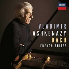 BWV 812-817 BACH: FRENCH SUITES - ASHKENAZY,VLADIMIR   CD NEUF