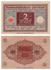 Germany 2 Mark 1920  P-60 Banknotes UNC