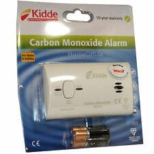 Kidde Carbon Monoxide Alarm CO2 Detector Gas Boiler Safety Batteries Included