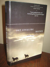 1st Edition OUT STEALING HORSES Per Petterson DUBLIN IMPAC Fiction FIRST PRINT