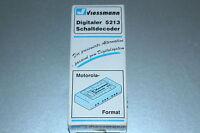Viessmann 5213 Schaltdecoder Motorola-Format Spur H0 OVP