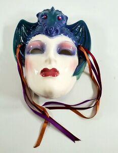 CLAY ART by San Francisco CERAMIC MASK DRAGON Queen Morgana Mask