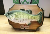 Big Mouth Billy Bass Singing Fish Vintage 1999 Gemmy Take Me To The River