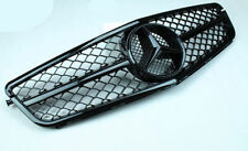 For MERCEDES BENZ W204 C63 Style GRILLE GRILL 2008-2013 C-CLASS AMG BLACK