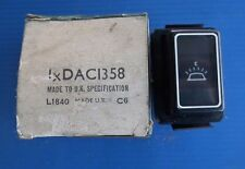 Jaguar Daimler Interior Light Switch (2) Fits XJ6 & XJ12 Series 3 DAC1358