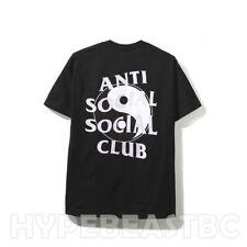 Anti Social Social Club T-Shirt ASSC Whisper Black Tee Shirt Mens Size Small NIB