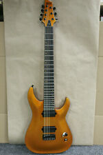 Schecter Guitar Research Keith Merrow KM-7 7 String Electric Guitar Lambo Orange