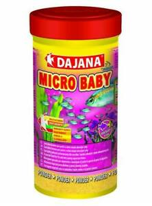 Micro Baby - Quality Fish Food Powder for fry / baby & young fish 100ml BBE10/21