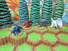 Black, Blue, Red & White Wyrmlings Heroscape Wave 12/D2 Warriors of Eberron