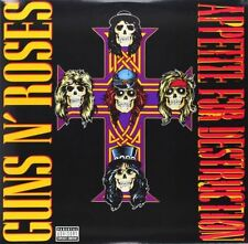 Guns N 'Roses Hard Rock LP Records