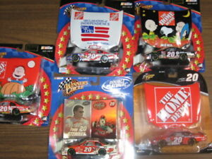 Tony Steward set of (5) five 1/43 Nascar racers