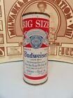 16oz BUDWEISER BIG SIZE FLAT TOP EMPTY BEER CAN #226-28   4 CITIES