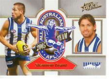 2006 Select AFL Supreme All Australia Team Card AA12 Shannon Grant (Kangaroos)
