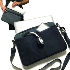 "Grey 12.5"" 13"" 13.3"" Tablet Laptop Notebook Computer Messenger Shoulder Case Bag"