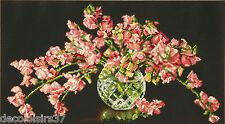 Dimensions  70-35284  Bouquet  Sweet Pea  Broderie  Point de Croix  Compté