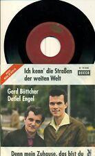 """Gerd Böttcher Detlef Angel I Know die. 7 """" (s 6792)"""