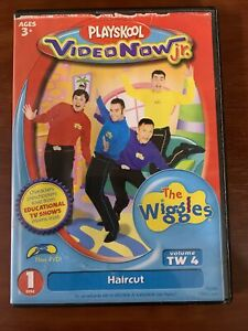 "PLAYSKOOL VIDEO NOW jr. THE WIGGLES ""Haircut"" PVD DISC"