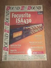 SOUND ON SOUND MAGAZINE ~ NOVEMBER 1999 VOL. 15 ISSUE 1 FOCUSRITE ISA430