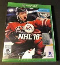 NHL 18 (XBOX ONE) NEW