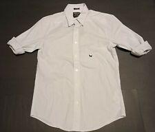 NWT New Abercrombie & Fitch Men's Striped Super Slim Poplin Shirt Size Small