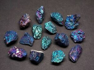 Chalcopyrite 1/4 Lb Lots Peacock Ore Blue Purple Pink Silver Mexico