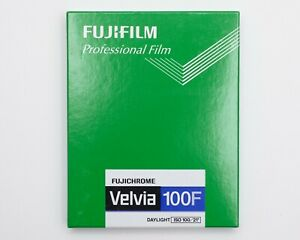 Fujifilm Velvia 100F (10 Sheets) 4x5 5x4 - Exp 07/2010 - Cold Stored Film E6