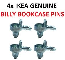 IKEA BILLY BOOKCASE SHELF SUPPORT PEGS PINS X 4 1st CLASS FREE POSTAGE GENUINE