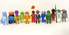 HTF Playmobil Scooby Doo COMPETE 12 Figure Ghost set Series 1 Blind Bag MINT