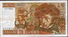BERLIOZ 10 Francs 5.1.1976; alpha 283 recherché FAY 63/17a  L133