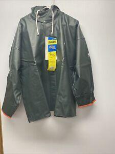 Harvestor by:Grundens Jacket with Hood Rip-Stop Nylon(44)