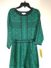 GB Girls Black Green Dress Size XL NWT