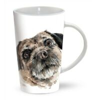 BORDER TERRIER Tall Latte Mug | Great Gift for a Terrier Dog Lover | FREE P&P