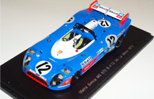 1/43 Spark Matra Simca MS 670 B Car #12 3rd in 1973 24 Hours of LeMans S3450