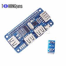 4 Port USB HUB HAT Expansion Board Raspberry Zero/Zero W/3B+ ATF