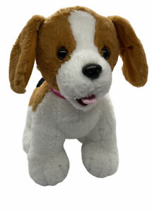 BABW Build A Bear Promise Pets Beagle Dog with Collar Stuffed Plush Puppy Toy