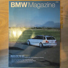 BMW Great Britain GB Official Magazine SPRING 2002 E46 3 Series Touring / Estate