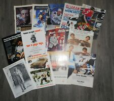 19 DIFFERENT MAGAZINE PROMOTIONAL ADS FEATURING HOCKEY STARS