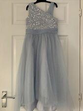 Vestido de novia monsson Niñas Azul Cielo fiesta de 8 años