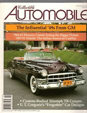 Collectible Automobile August 2007, 1964-65 Mercury Comet, and more .....
