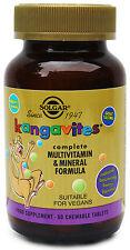 Solgar Kangavites Multivit & Mineral 60 Chewable vegan Tablets Bouncing Berry