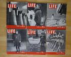 HUGE LIFE MAGAZINE COLLECTION - 1730 ISSUES REVISTAS EN INGLES VINTAGE