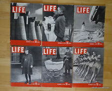 HUGE LIFE MAGAZINE COLLECTION - 1730 ISSUES REVISTAS EN INGLES VINTAGE