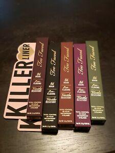 Too Faced KILLER LINER 36-Hour Waterproof Gel Eyeliner - Choose Your Color