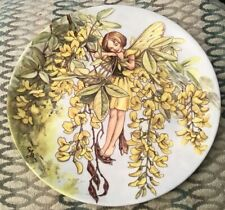 Wedgwood The Laburnum Fairy Collectors Plate Flower Fairies Cicely Mary Barker